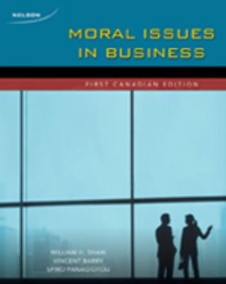Moral Issues in Business   2009 edition cover