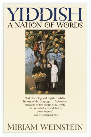 Yiddish A Nation of Words N/A edition cover