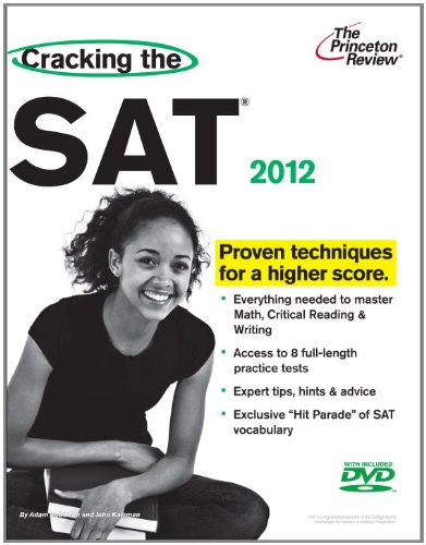 Cracking the SAT 2012  N/A 9780375428302 Front Cover