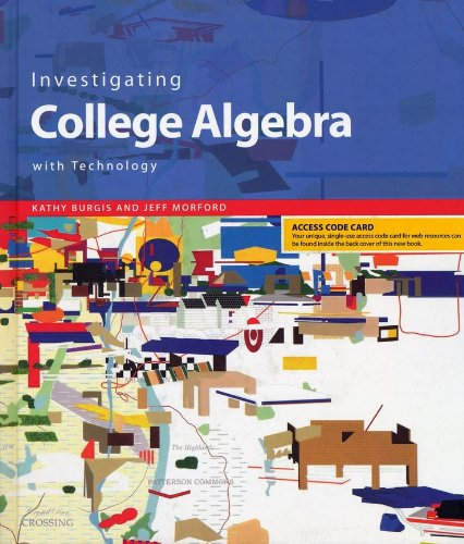 Investigating College Algebra with Technology, Student CD-ROM with Access Code Card   2006 edition cover