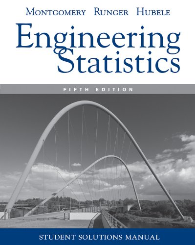 Engineering Statistics  5th 2011 edition cover