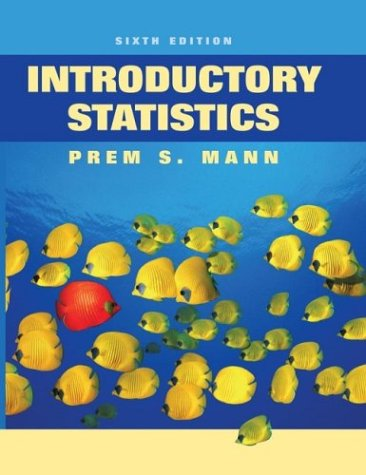 Introductory Statistics  6th 2007 (Revised) edition cover