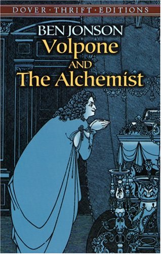 Volpone and the Alchemist   2004 9780486436302 Front Cover