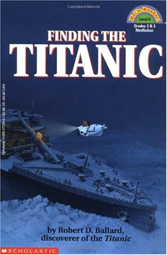 Finding the Titanic   1993 edition cover