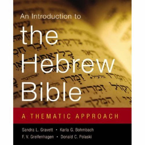 Introduction to the Hebrew Bible A Thematic Approach  2008 edition cover