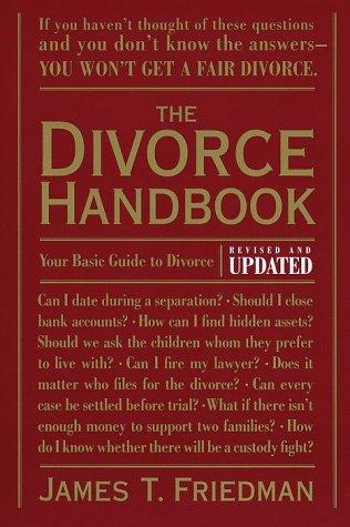 Divorce Handbook  2nd (Revised) 9780679771302 Front Cover