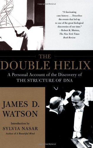 Double Helix A Personal Account of the Discovery of the Structure of DNA  1996 edition cover