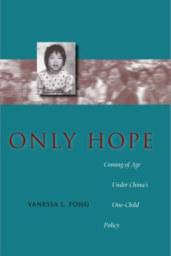 Only Hope Coming of Age under China's One-Child Policy  2004 edition cover