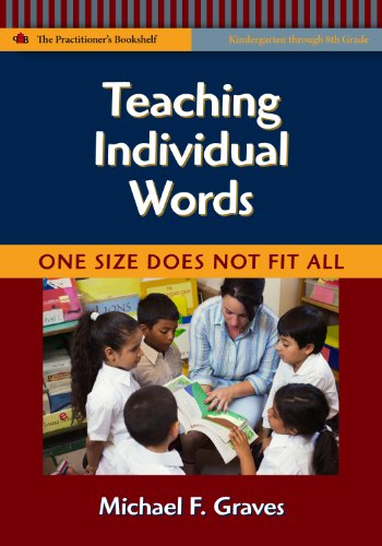 Teaching Individual Words One Size Does Not Fit All  2009 edition cover