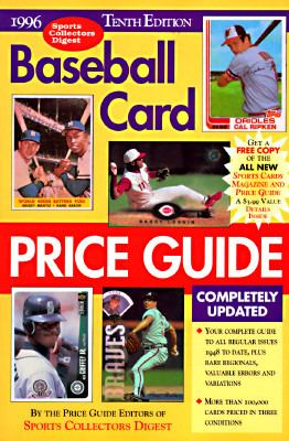 Baseball Card Price Guide 10th 9780873414302 Front Cover