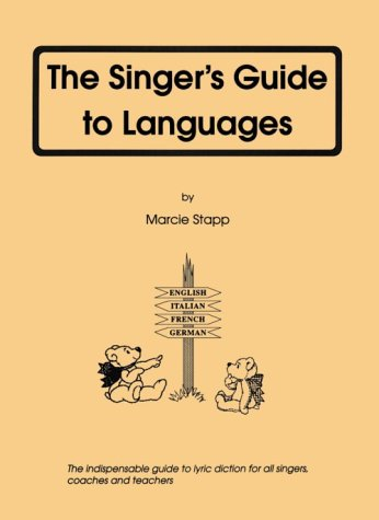 Singer's Guide to Languages  1996 (Revised) edition cover