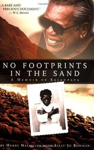 No Footprints in the Sand A Memoir of Kalaupapa N/A edition cover