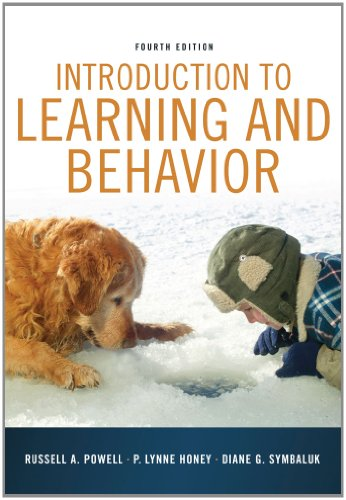 Introduction to Learning and Behavior  4th 2013 9781111834302 Front Cover