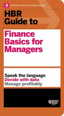 HBR Guide to Finance Basics for Managers   2012 edition cover