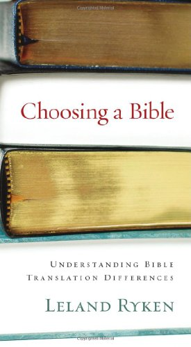 Choosing a Bible Understanding Bible Translation Differences  2005 edition cover