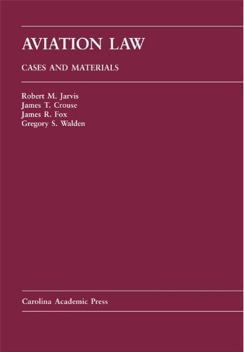 Aviation Law Cases and Materials  2006 9781594600302 Front Cover