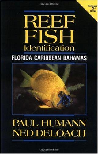 Reef Fish Identification Florida Caribbean Bahamas  3rd 2002 (Enlarged) edition cover