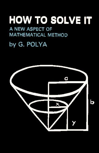 How to Solve It : A New Aspect of Mathematical Method  2009 edition cover