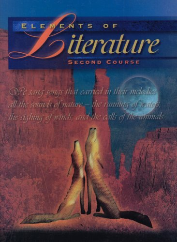 Elements of Literature, Second Course   1997 9780030968303 Front Cover