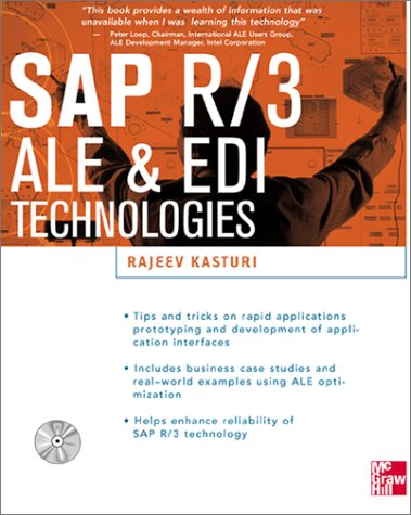 SAP R/3 ALE and EDI Technologies 1st 1999 9780071347303 Front Cover