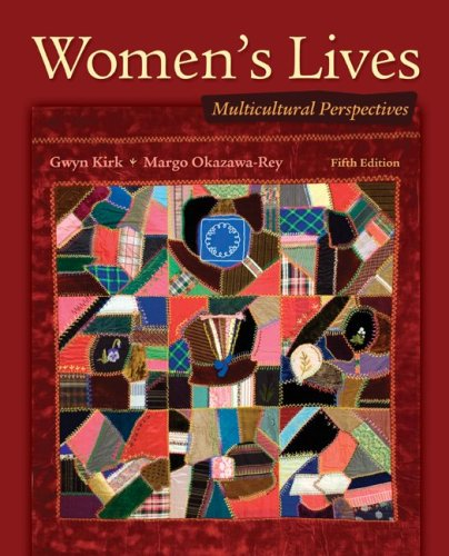 Women's Lives Multicultural Perspectives 5th 2010 edition cover