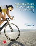 Applied Statistics in Business and Economics:   2015 edition cover