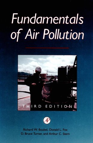 Fundamentals of Air Pollution  3rd 1994 (Revised) edition cover