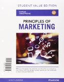 Principles of Marketing + Mymarketinglab With Pearson Etext: Value Edition  2015 edition cover