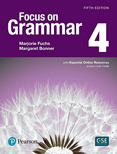 Focus on Grammar 4  5th 2017 (Student Manual, Study Guide, etc.) 9780134583303 Front Cover