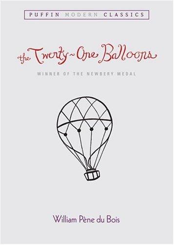Twenty-One Balloons   1975 edition cover