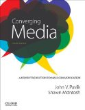 Converging Media A New Introduction to Mass Communication 4th 9780199342303 Front Cover
