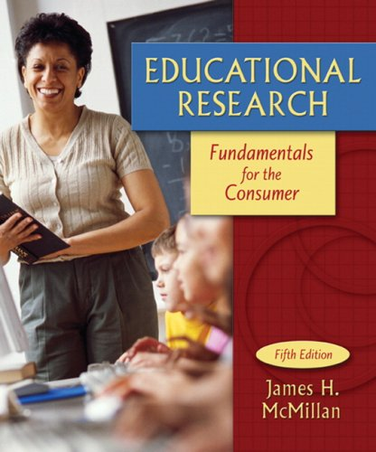 Educational Research Fundamentals for the Consumer 5th 2008 edition cover
