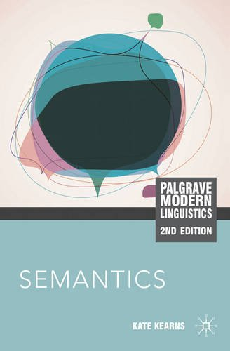 Semantics  2nd 2011 (Revised) edition cover