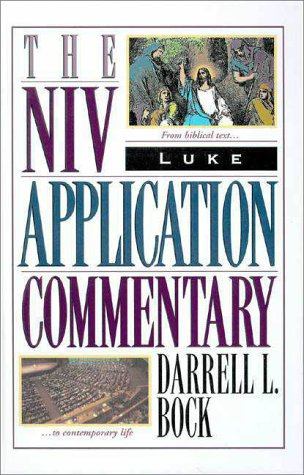 Niv Application Commentary Luke   1996 edition cover