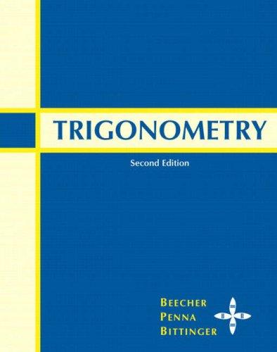 Trigonometry  2nd 2008 edition cover