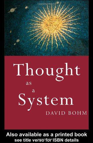 Thought As a System   1994 9780415110303 Front Cover