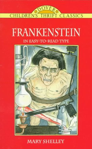 Story of Frankenstein   1997 (Abridged) edition cover