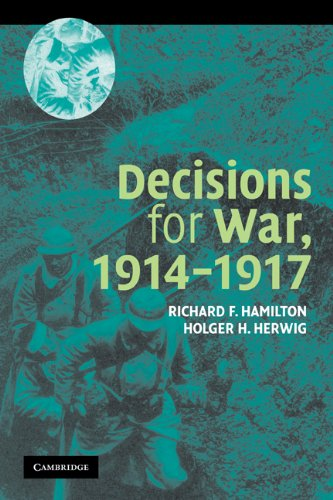 Decisions for War, 1914-1917   2004 edition cover