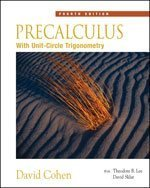 Precalculus : with Unit Circle Trigonometry (with Interactive Video Skillbuilder CD-ROM)  4th 2006 (Revised) 9780534402303 Front Cover