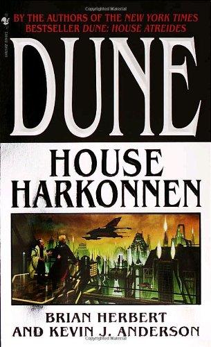 Dune: House Harkonnen   2000 (Reprint) 9780553580303 Front Cover
