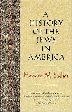 History of the Jews in America  Reprint  edition cover