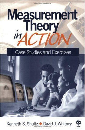 Measurement Theory in Action Case Studies and Exercises  2005 edition cover
