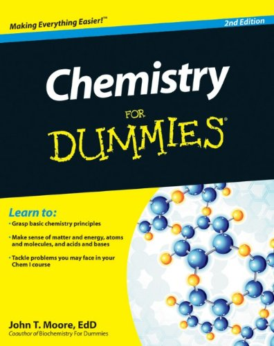 Chemistry for Dummies�  2nd 2011 9781118007303 Front Cover
