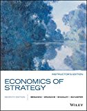 Economics of Strategy:   2015 edition cover