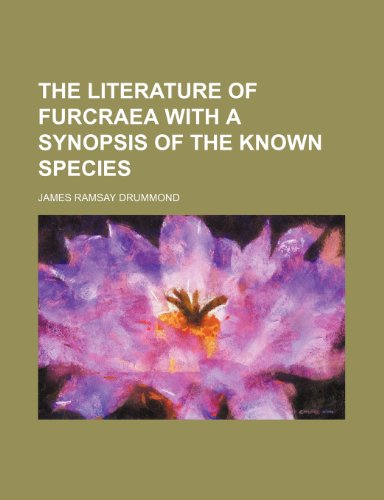 Literature of Furcraea with a Synopsis of the Known Species  2010 edition cover