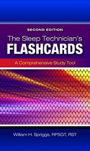 Sleep Technician's Flashcards  2nd 2015 9781284030303 Front Cover