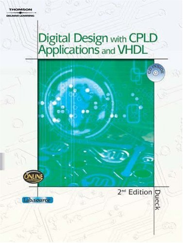 Digital Design with CPLD Applications and VHDL  2nd 2005 (Revised) edition cover