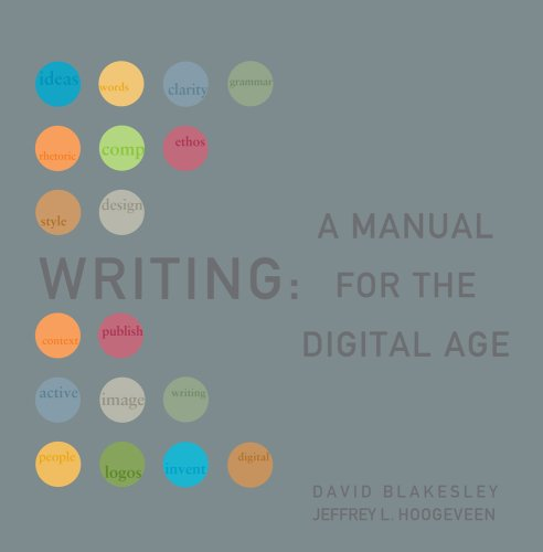 Writing 2009 A Manual for the Digital Age  2008 (Revised) edition cover