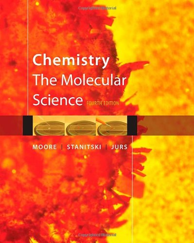Chemistry The Molecular Science 4th 2011 edition cover