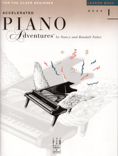 Accelerated Piano Adventures: Lesson Book Level 1  2001 edition cover